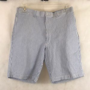 Cordovan & Grey, Ltd. Striped Shorts Size 38